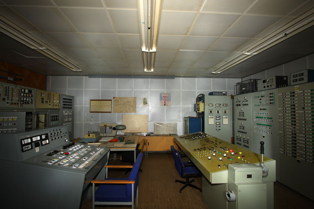The main controlroom.