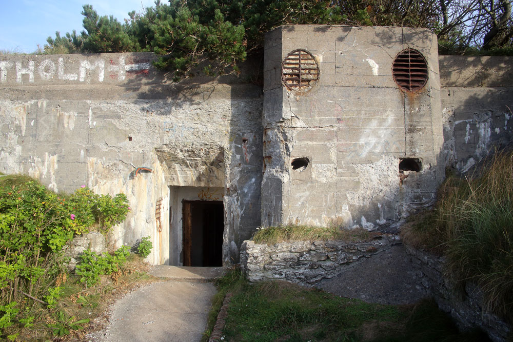 Main command bunker entrance.