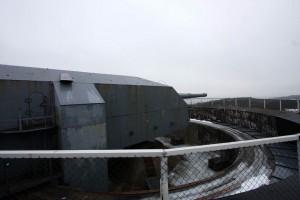 Bevarad 38 cm i Kristiansand / 38 cm preserved Gun at Kristiansand.