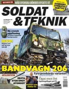 Framsida Soldat & Teknik #2 2013