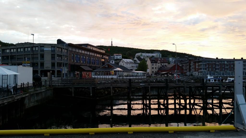 Midnightsun in Harstad