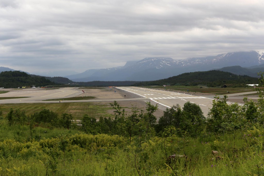 Bardufoss airport and airbase.