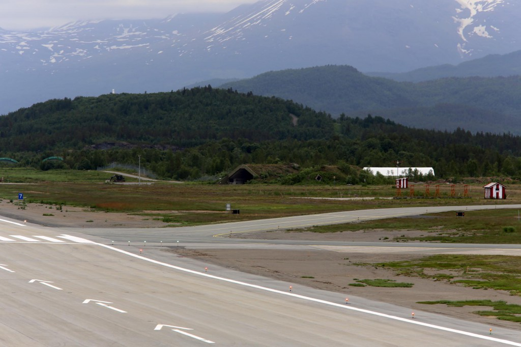 Bardufoss airbase with HAS.