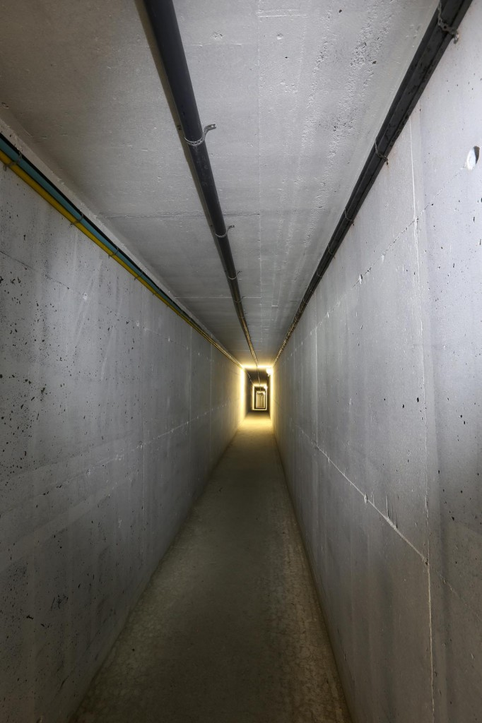 corridor - one of many.